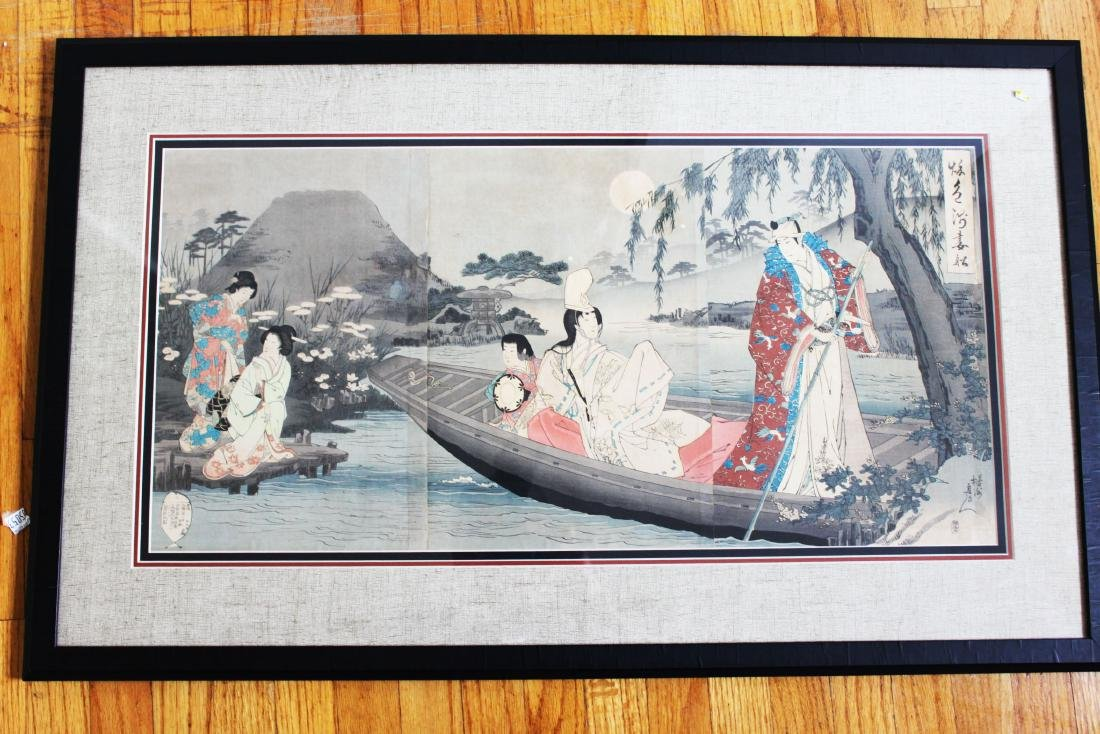Japanese Woodblock Paitning