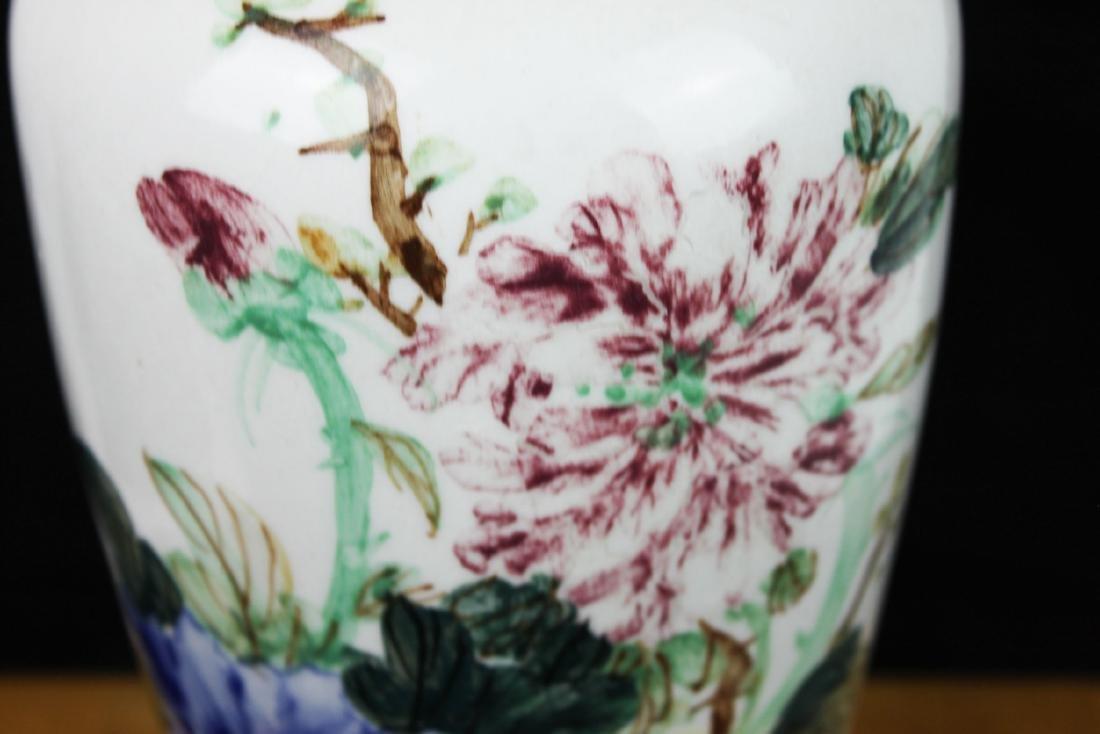 Antique Chinese Porcelain Vase 1900s - 4