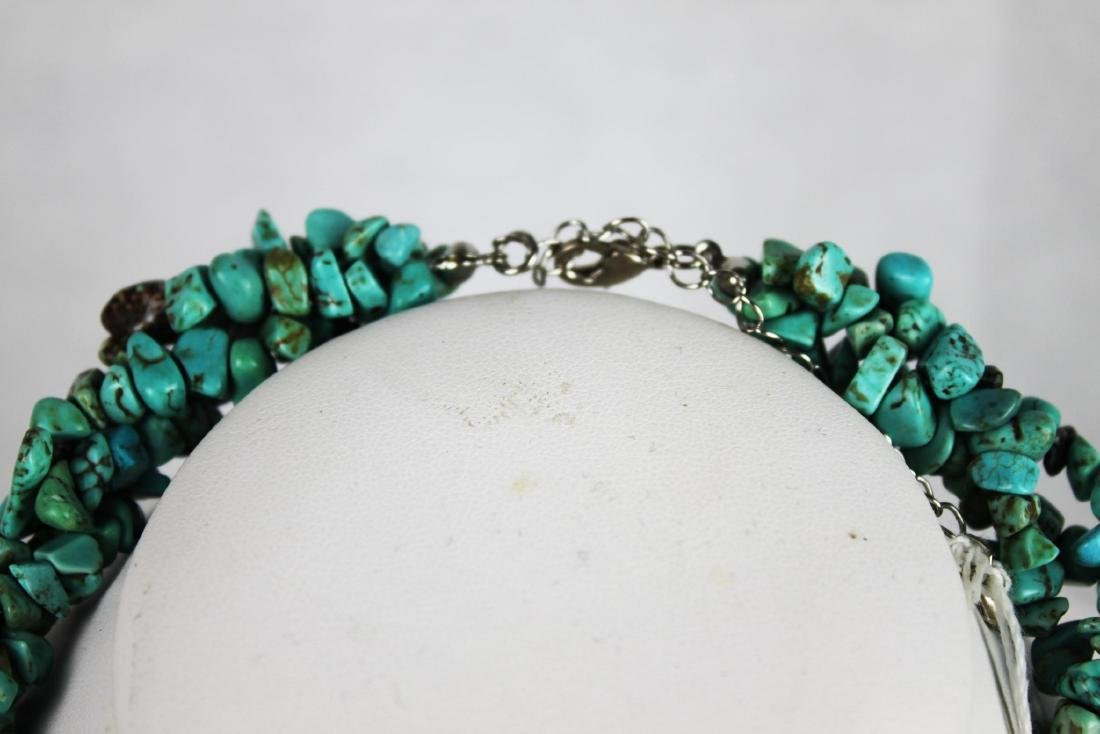 Natural Turquoise Necklace - 2