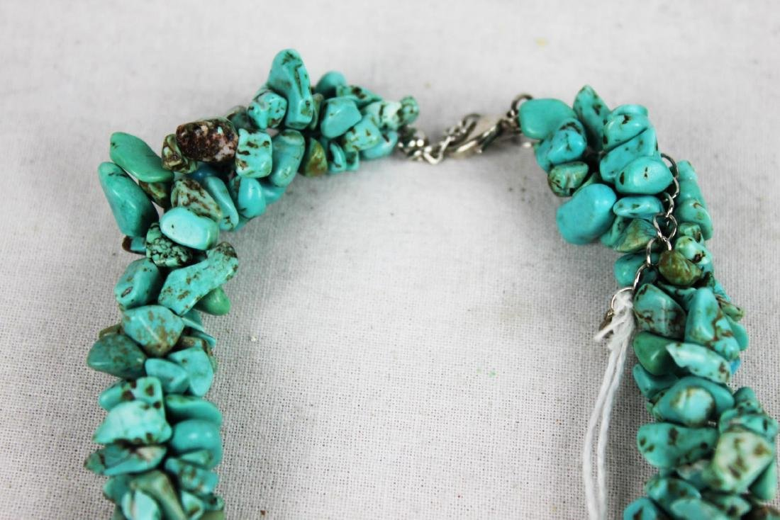 Natural Turquoise Necklace - 3