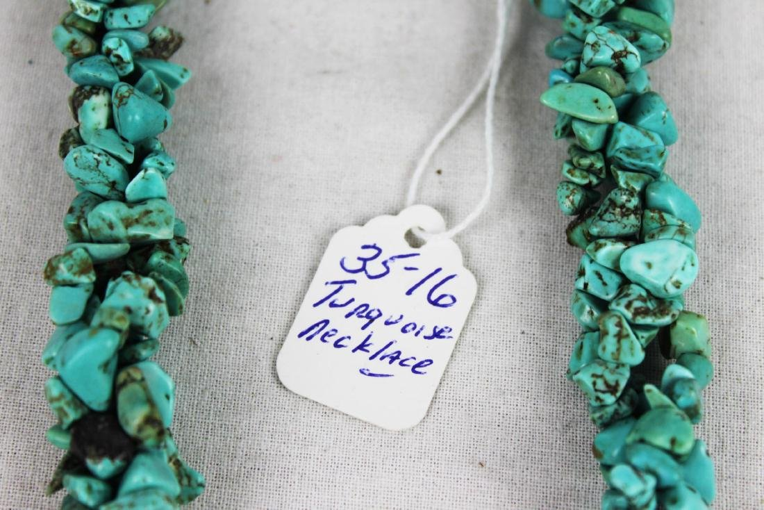 Natural Turquoise Necklace - 4
