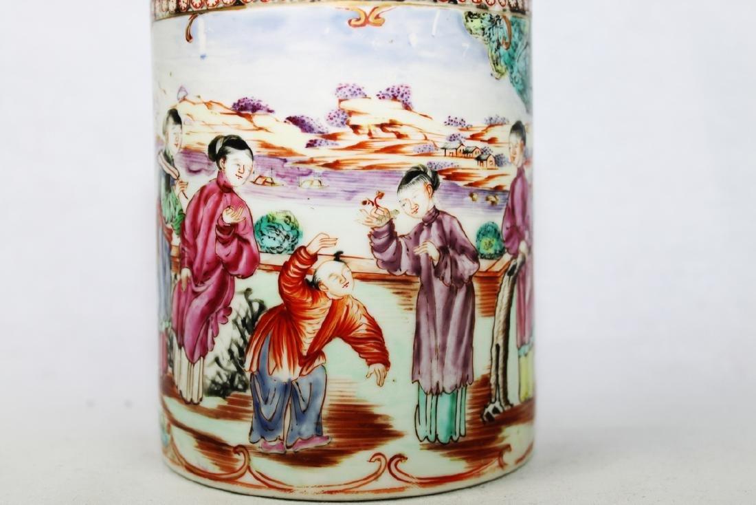 Antique Chinese WuCai Mug - 8