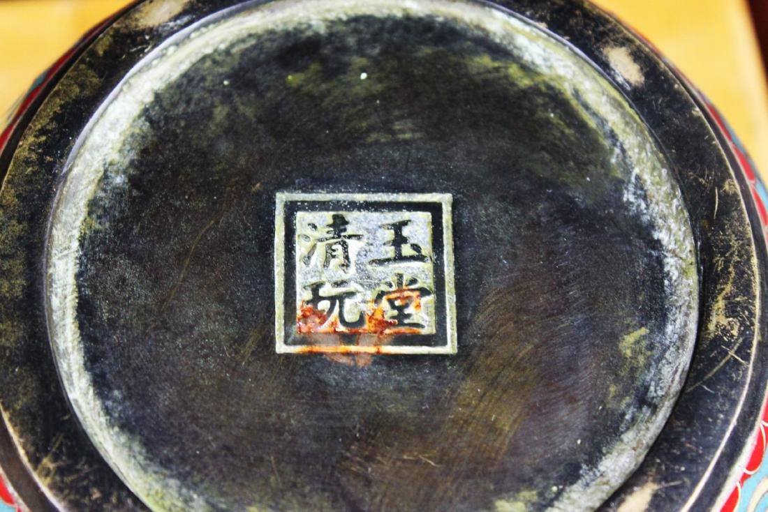 Antique Chinese Cloisonne Bowl - 10
