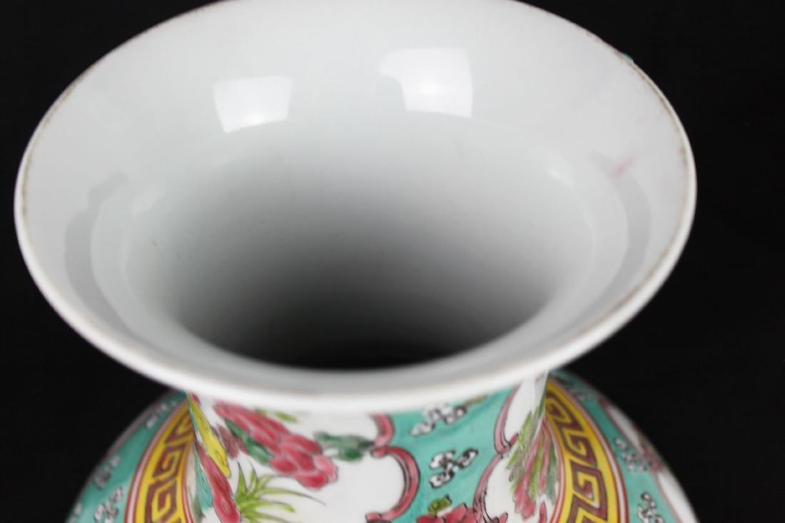 Antique Chinese Famillie Rose Porcelain Vase - 2