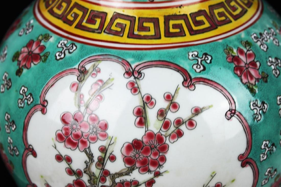 Antique Chinese Famillie Rose Porcelain Vase - 4