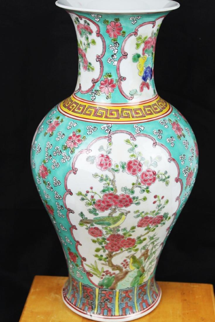 Antique Chinese Famillie Rose Porcelain Vase - 7