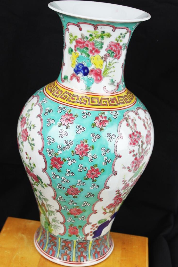 Antique Chinese Famillie Rose Porcelain Vase - 8
