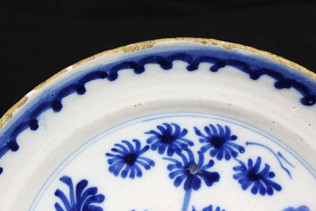 Antique Chinese Blue&white Porcelain Plate - 2