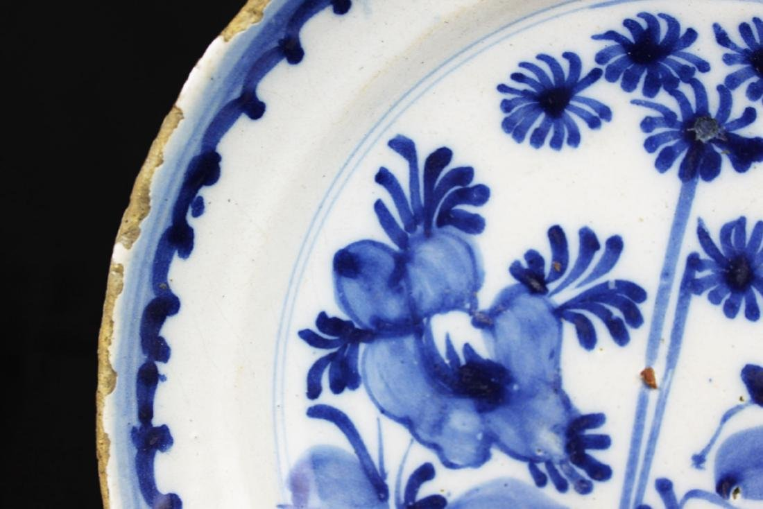 Antique Chinese Blue&white Porcelain Plate - 3