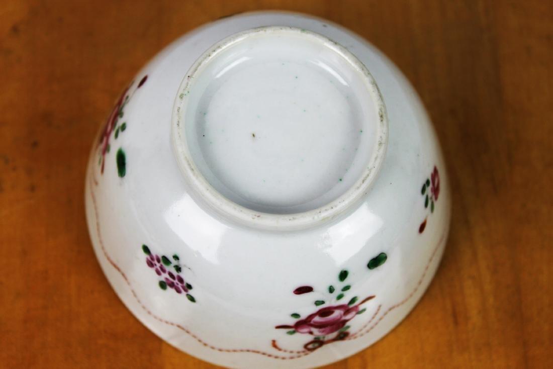 Antique Porcelain Plate and Porcelain Bowl - 10