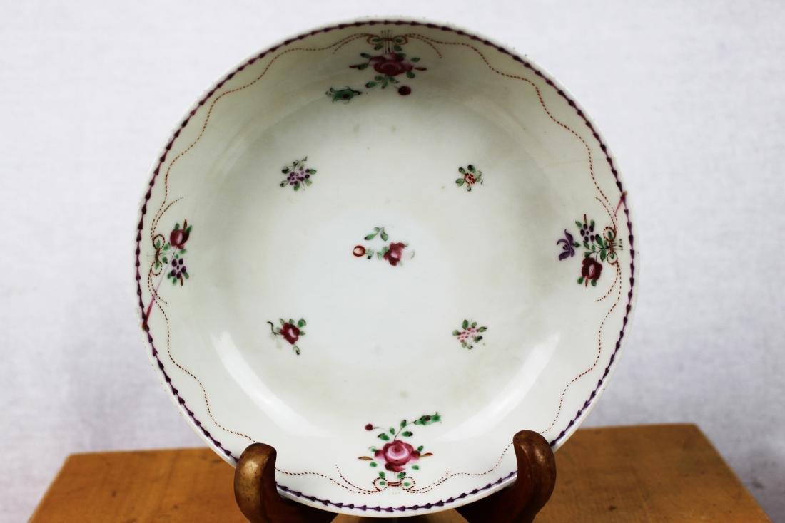 Antique Porcelain Plate and Porcelain Bowl - 2