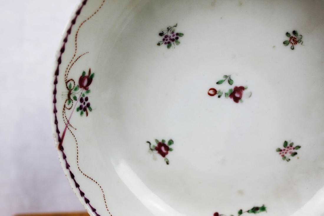 Antique Porcelain Plate and Porcelain Bowl - 4