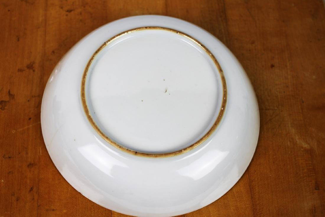 Antique Porcelain Plate and Porcelain Bowl - 6
