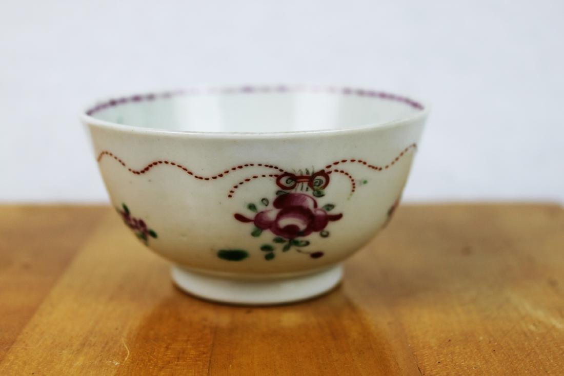 Antique Porcelain Plate and Porcelain Bowl - 7