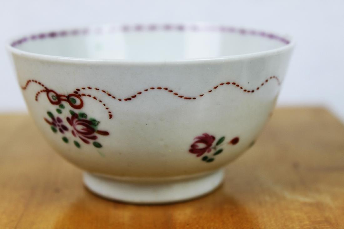 Antique Porcelain Plate and Porcelain Bowl - 8