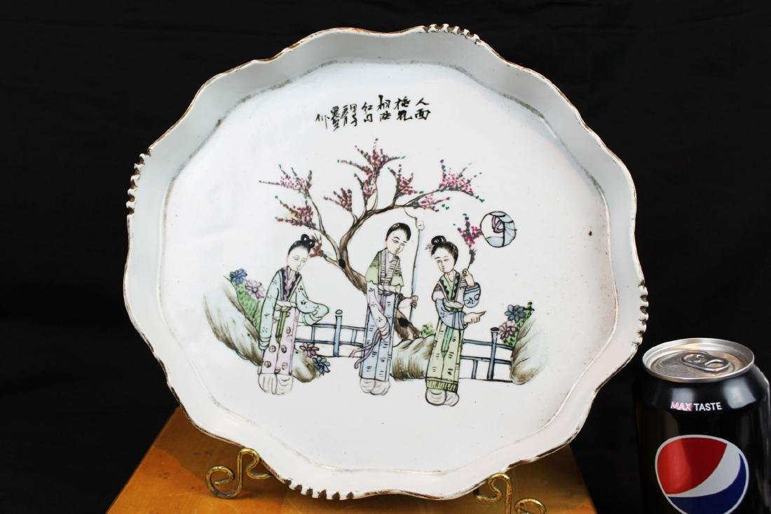 Antique Chinese Porcelain Plate from 1900s