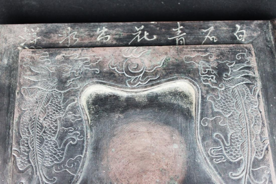 Antique Chinese Inkstone possibly around 1600 - 10