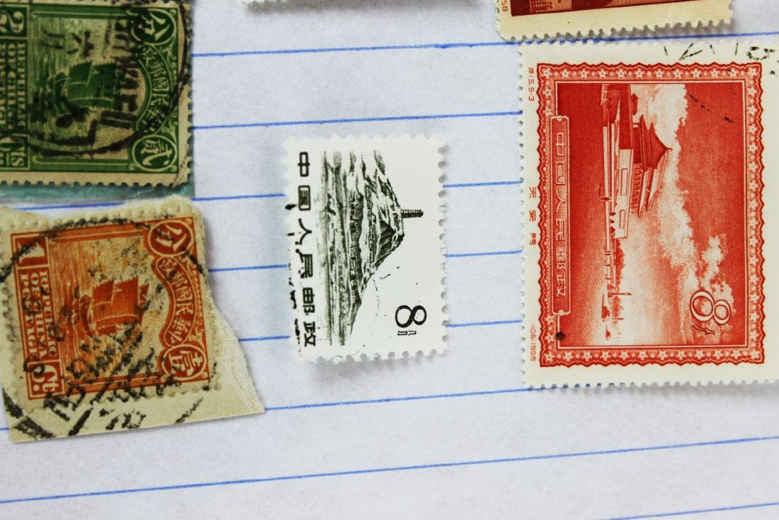 10 Chinese Stamps - 4