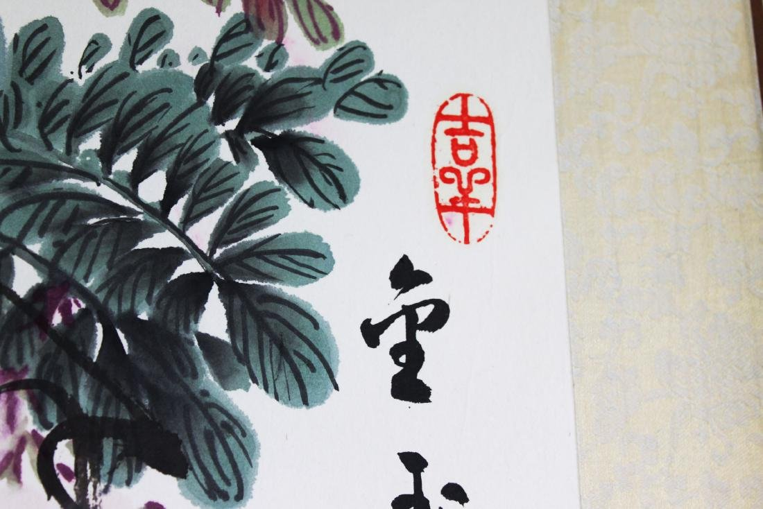 Antique Chinese Scroll Painting - 5