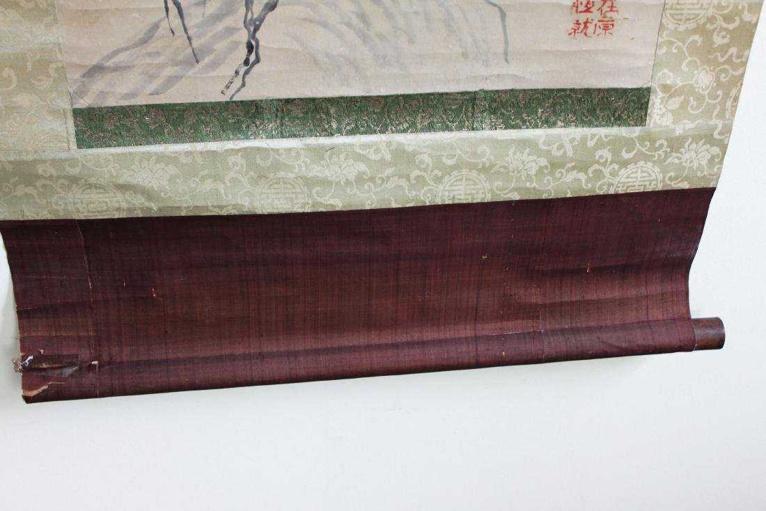 Antique Chinese Scroll Painting - 10