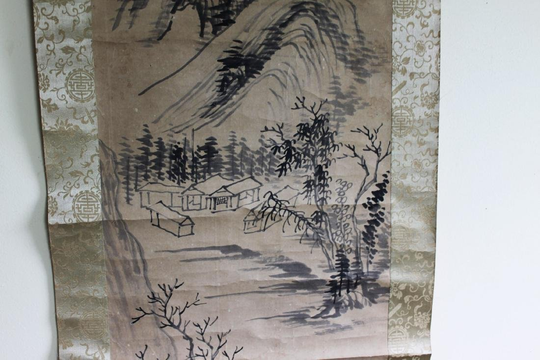 Antique Chinese Scroll Painting - 4
