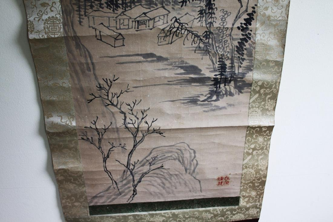 Antique Chinese Scroll Painting - 7