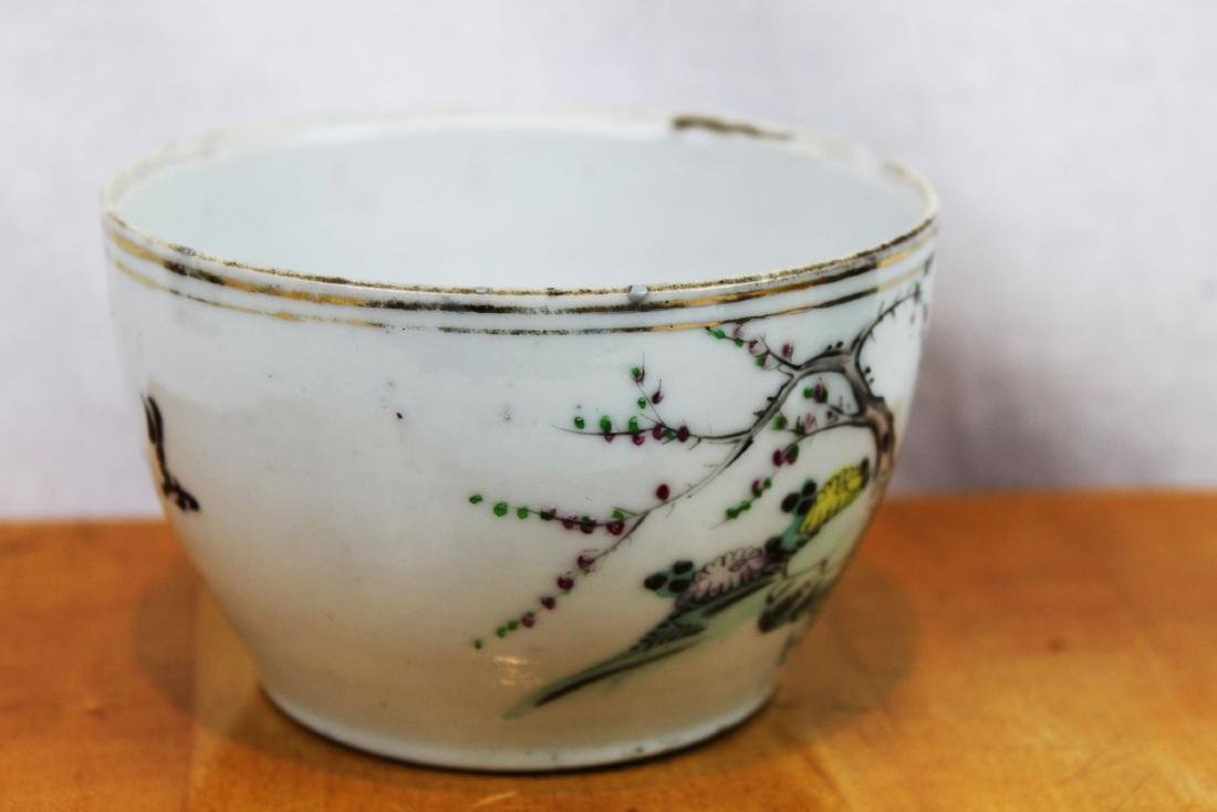 Antique Chinese Porcelain Cup 1800s' by Yongfa Luo - 6