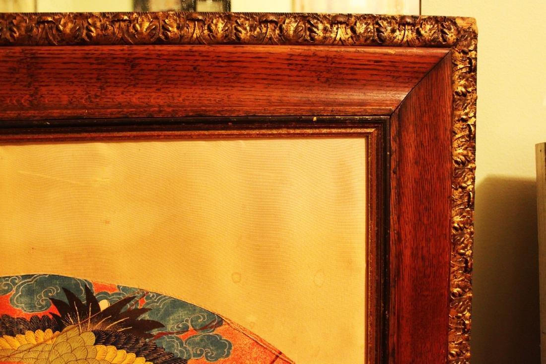 Antique Japanese Silk Painting - 4