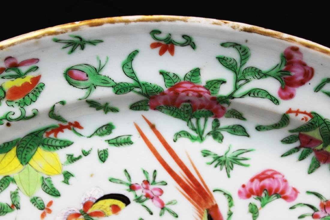 Antique Chinese Wucai Porcelain Plate - 3