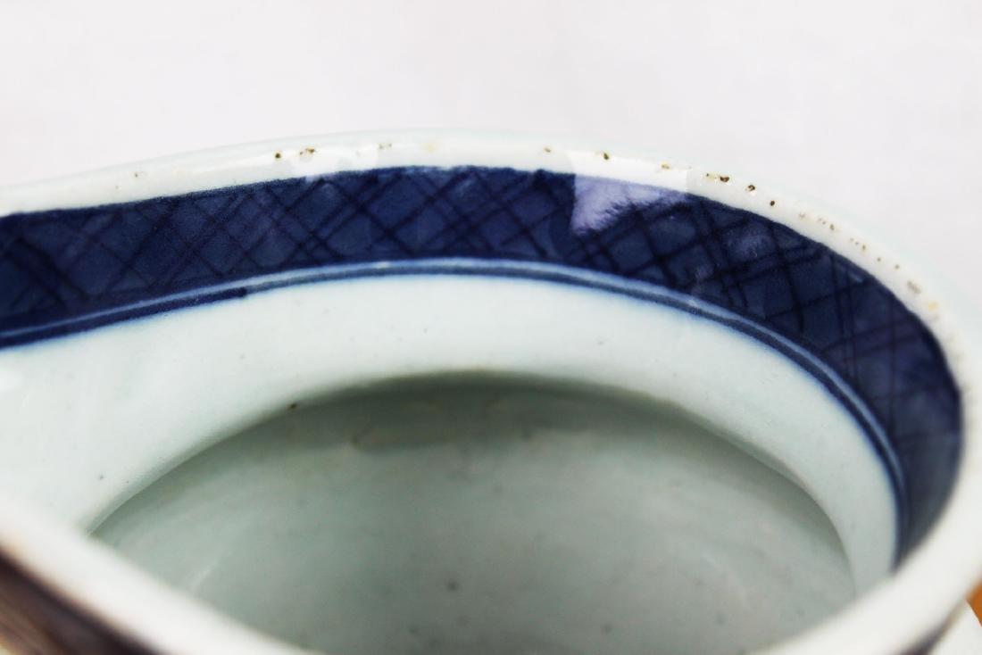 Antique Chinese Blue&White Sauce Jar - 2