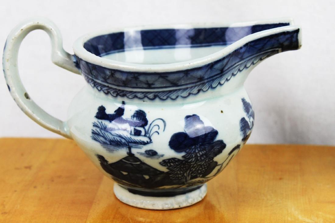 Antique Chinese Blue&White Sauce Jar - 5