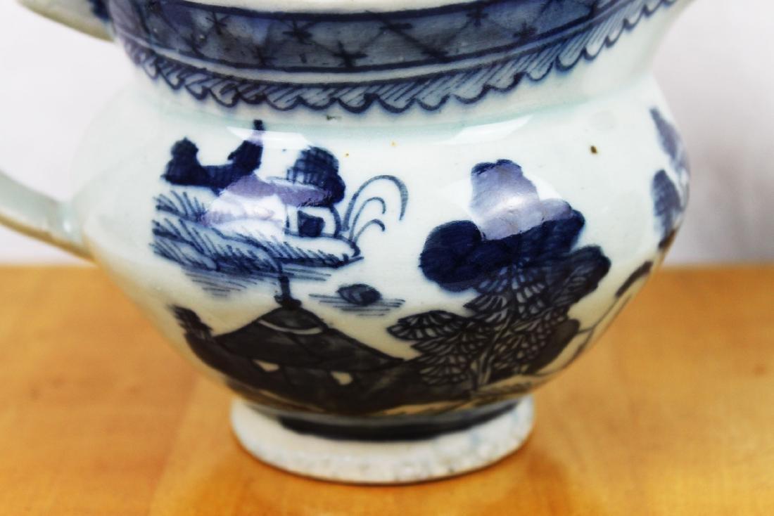 Antique Chinese Blue&White Sauce Jar - 6