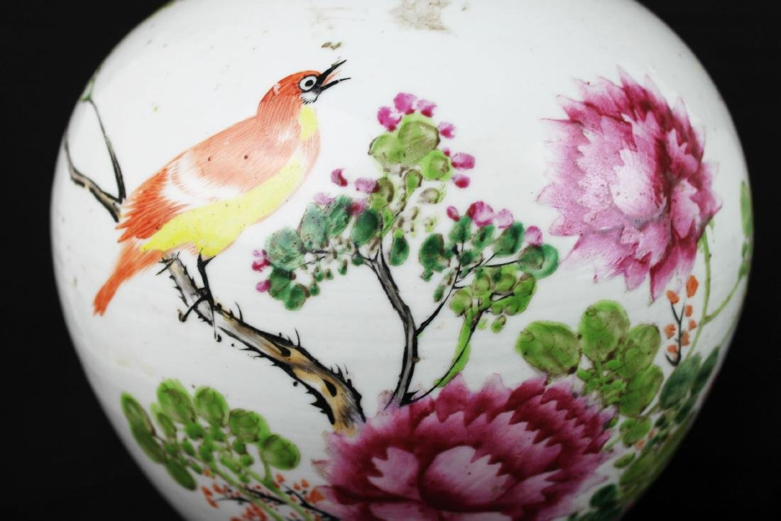 A Pair Antique Chinese Porcelain Jar - 3