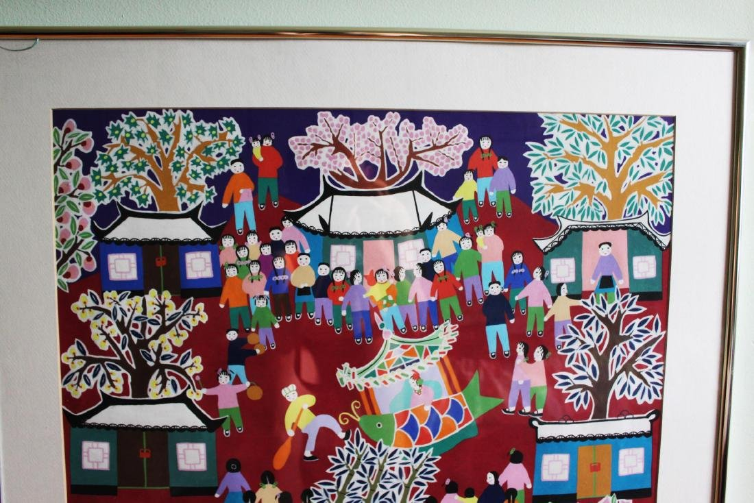 Chinese New Year Festival Painting by Furong Chen - 2