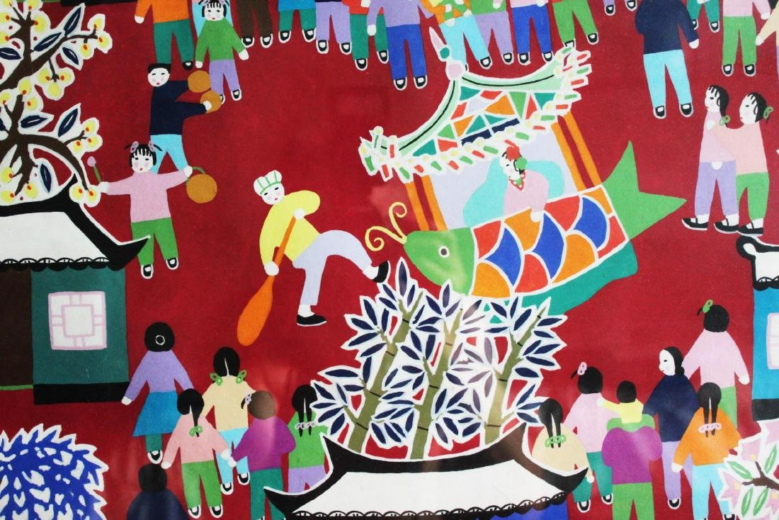 Chinese New Year Festival Painting by Furong Chen - 3