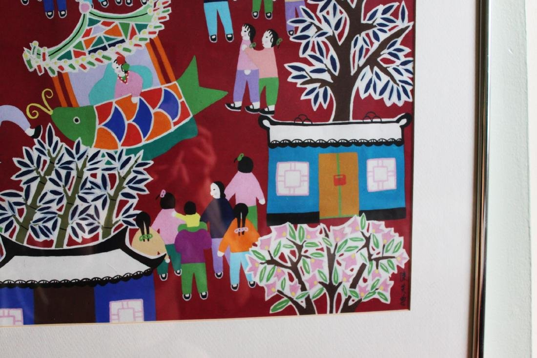 Chinese New Year Festival Painting by Furong Chen - 4