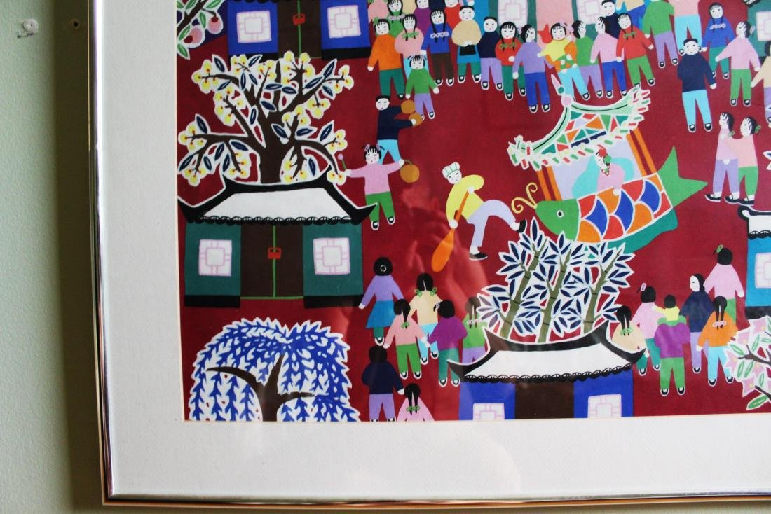 Chinese New Year Festival Painting by Furong Chen - 6
