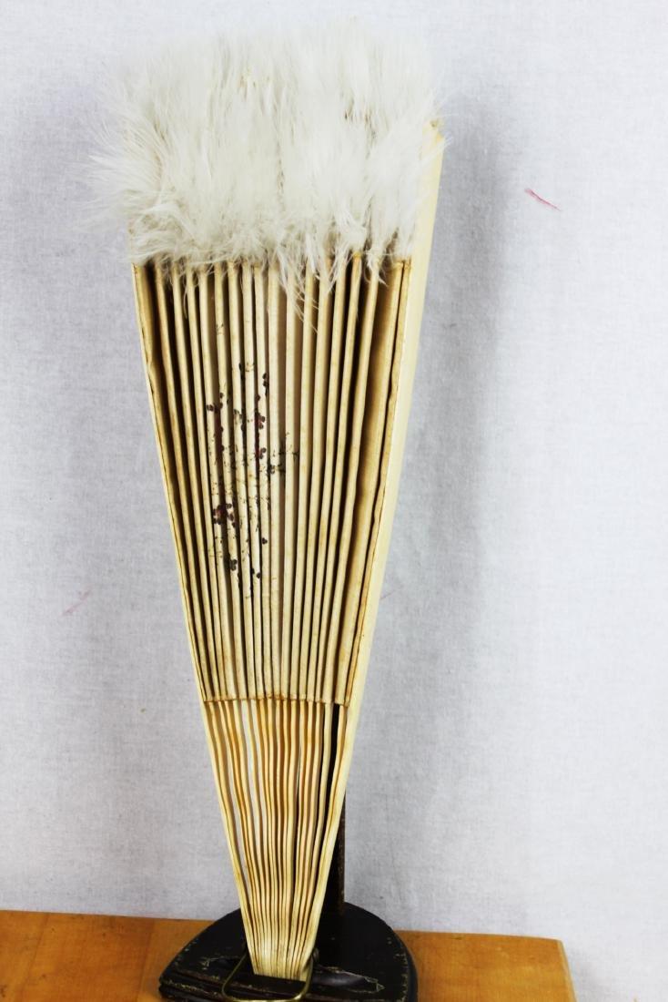 Two Antique Chinese Dancing Folding Fan - 10