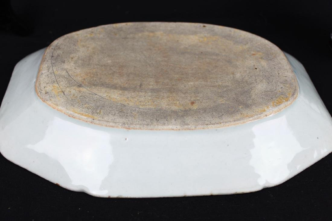Antique Chinese Porcelain Plate - 10
