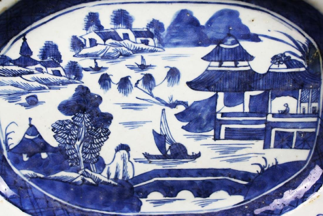 Antique Chinese Porcelain Plate - 5