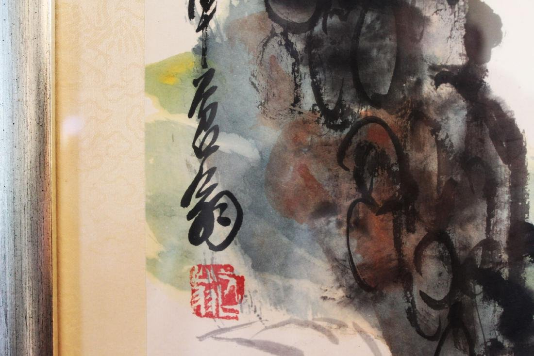 Antique Chinese Painting - 5