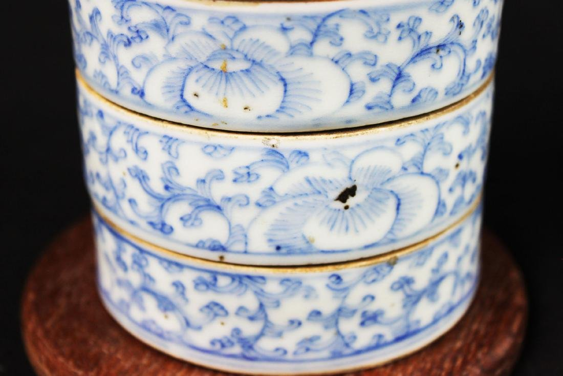 Antique Chinese Double-Joy Porcelain Tray - 3