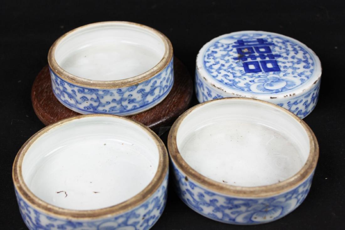 Antique Chinese Double-Joy Porcelain Tray - 4
