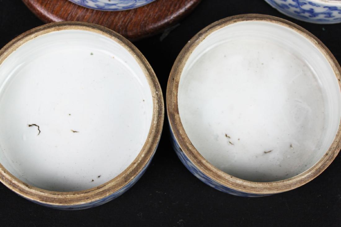 Antique Chinese Double-Joy Porcelain Tray - 8