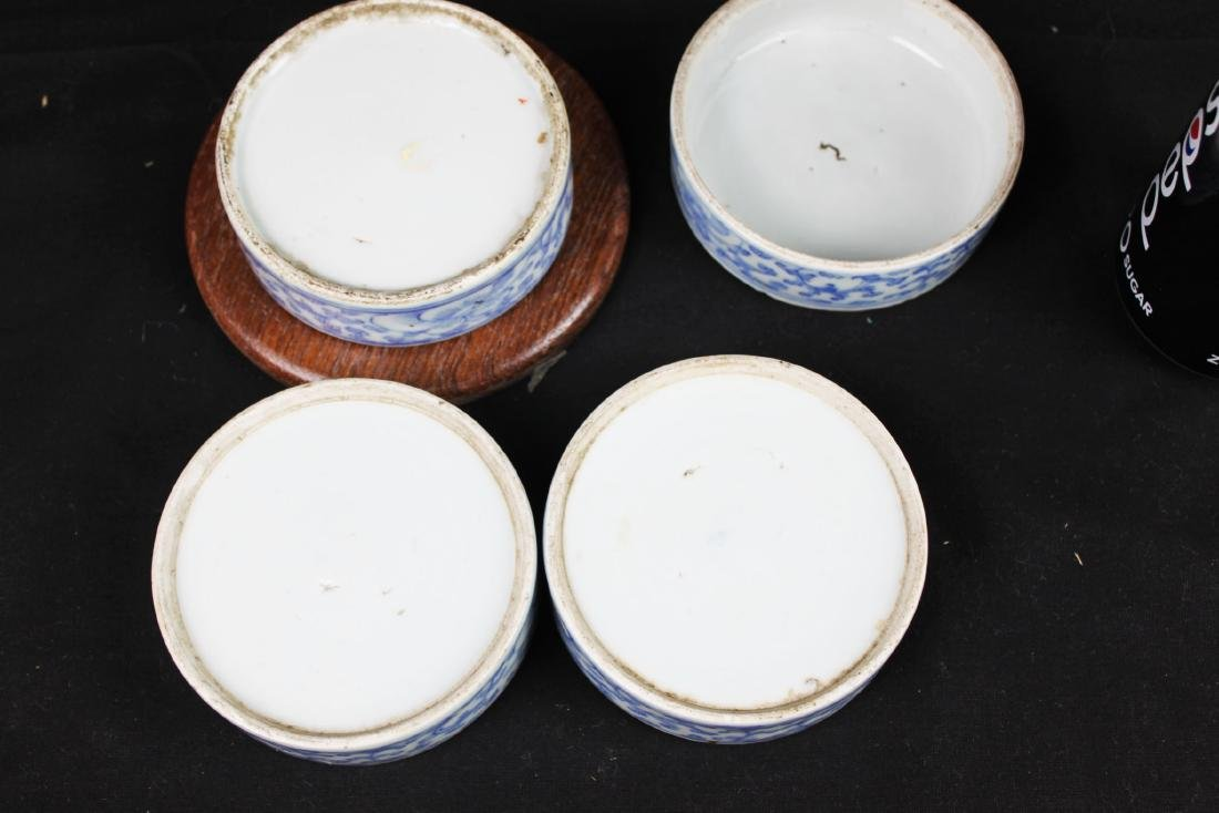 Antique Chinese Double-Joy Porcelain Tray - 9