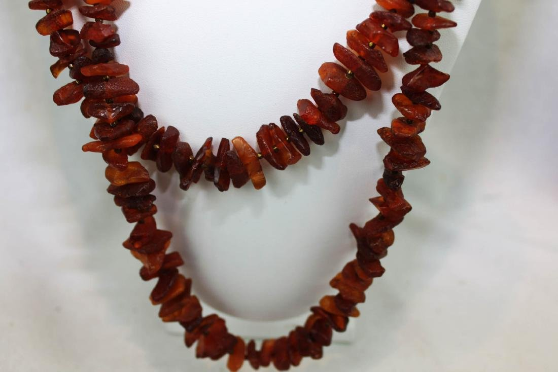 Small Geude Stones Necklace - 5