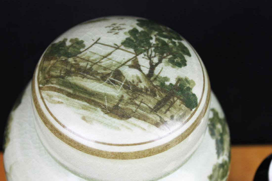 Antique Chinese Porcelain Jar - 2