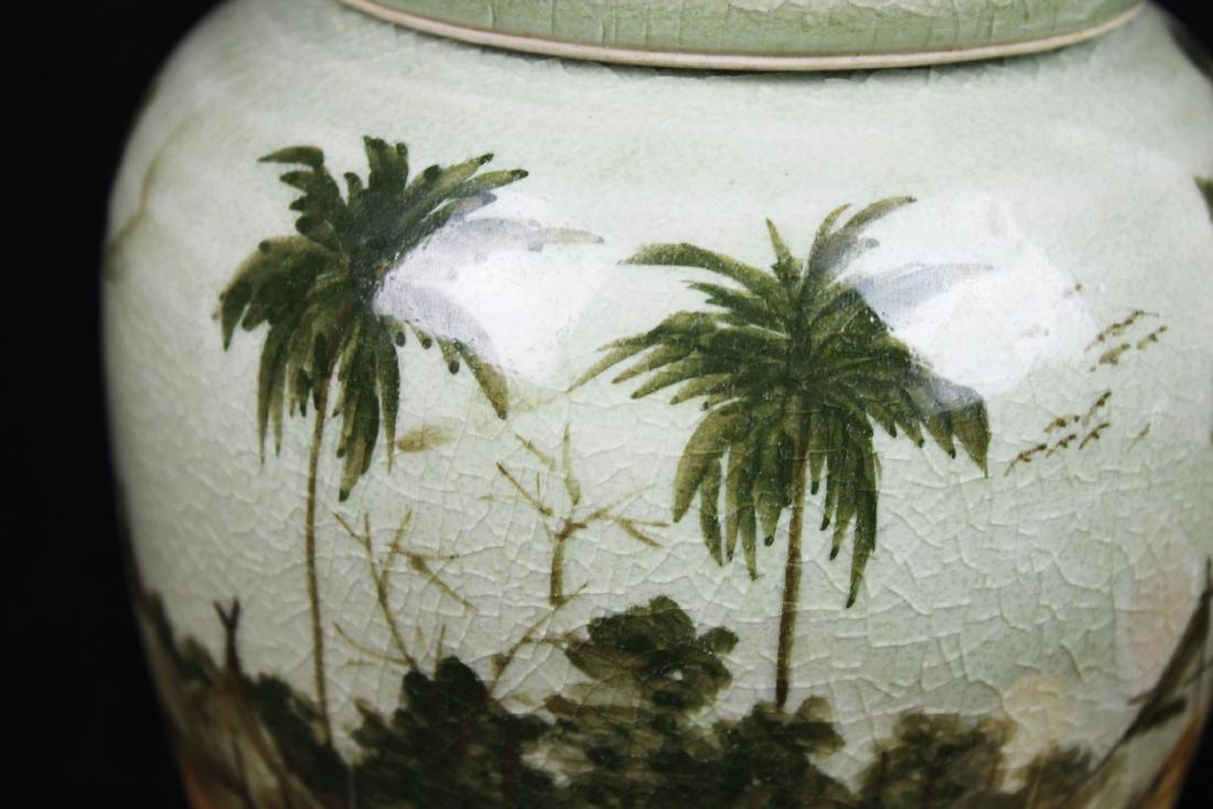 Antique Chinese Porcelain Jar - 3
