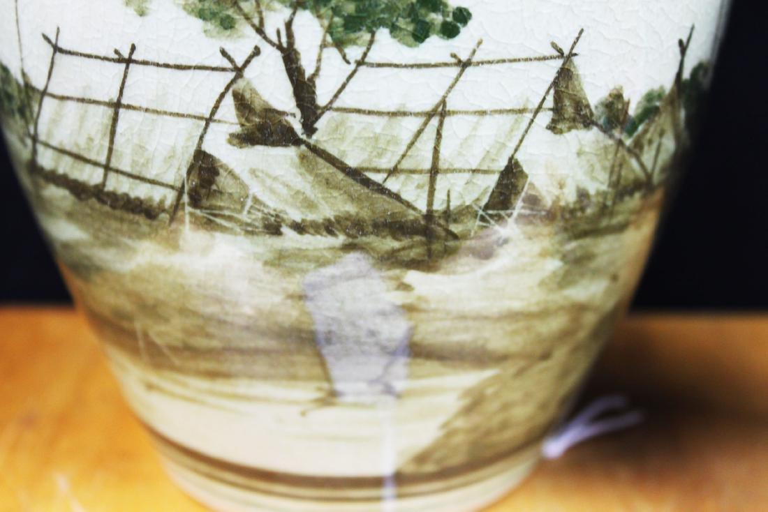 Antique Chinese Porcelain Jar - 9