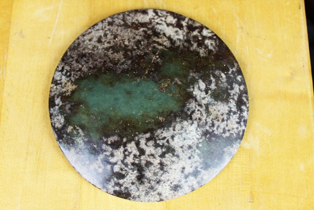 Antique Chinese Jade Mirror - 6